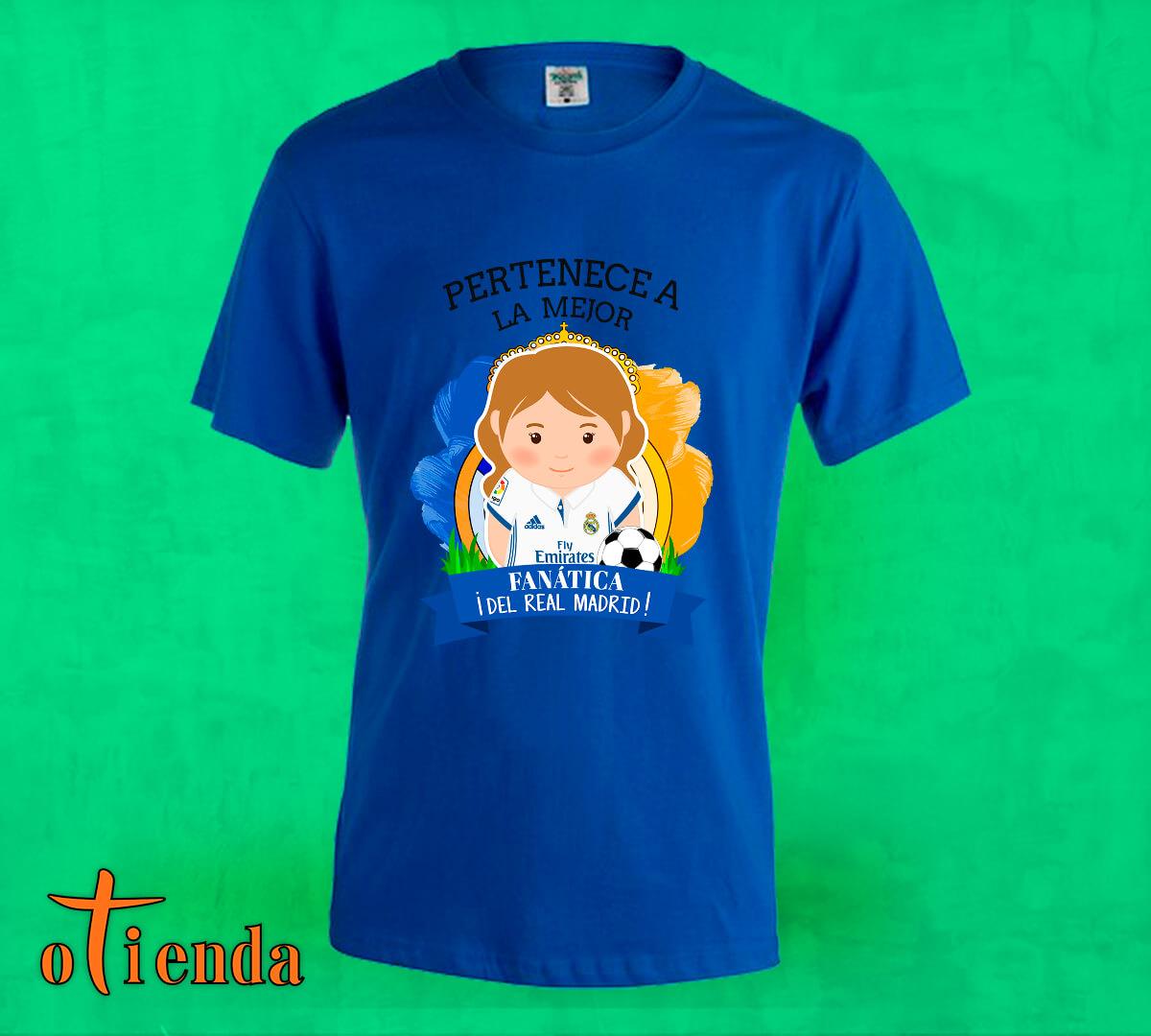 Camiseta de color Aquí toma uno del Real Madrid FC personalizada