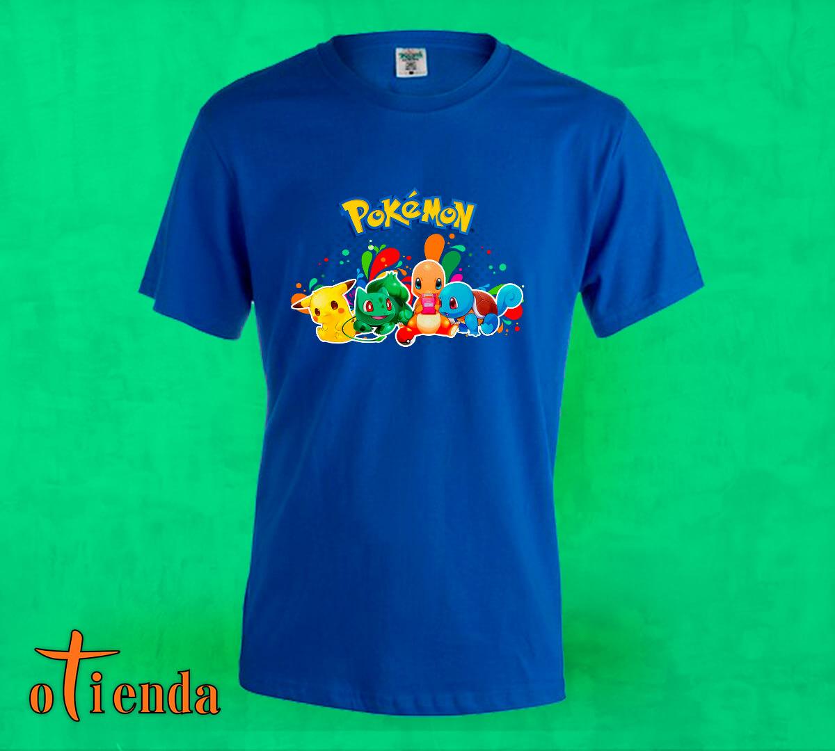 Camiseta de color Pokémon personalizada