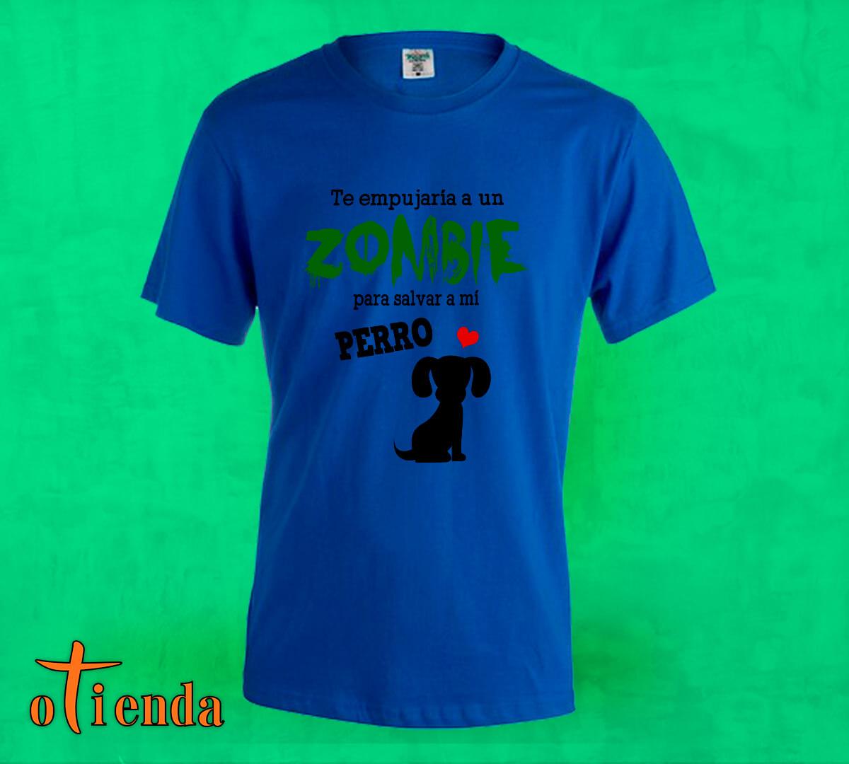 Camiseta de color Zombie personalizada