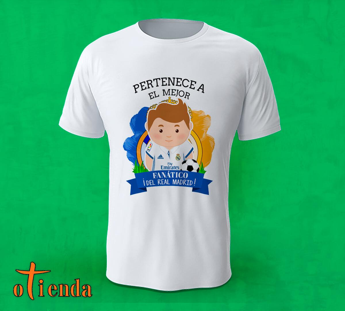 Camiseta Aquí toma uno del Real Madrid FC personalizada