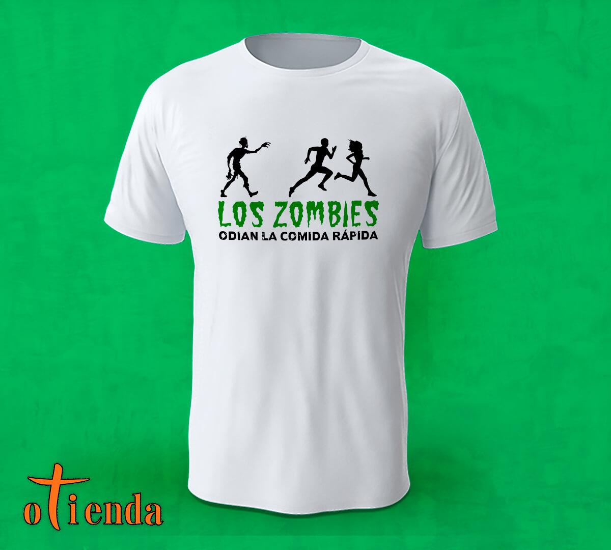 Camiseta Zombie personalizada