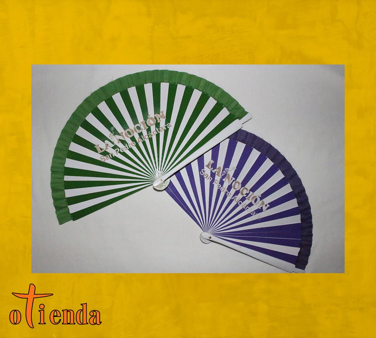 Abanico bicolor