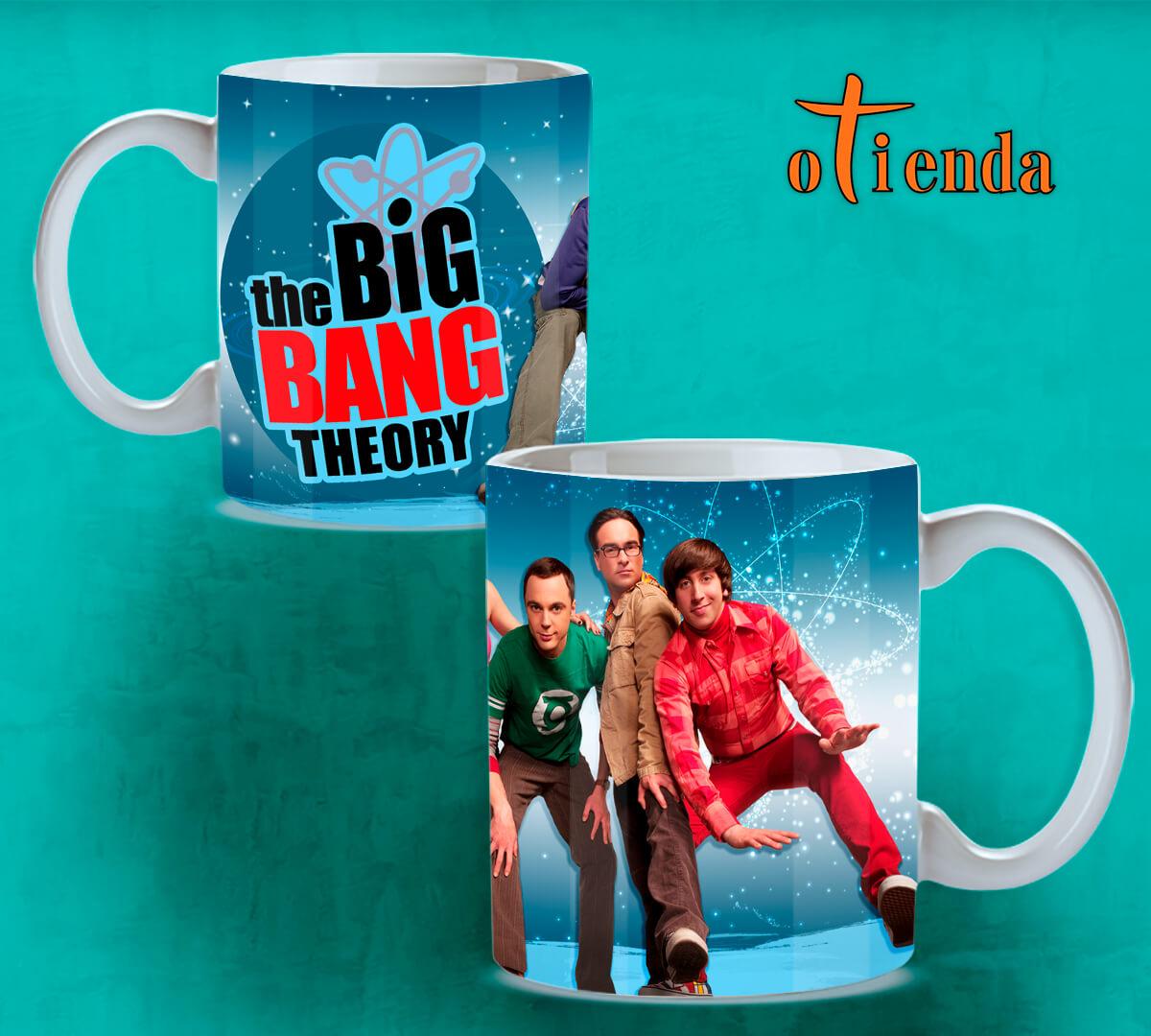 Taza Mug cerámica Big Bang Theory personalizada