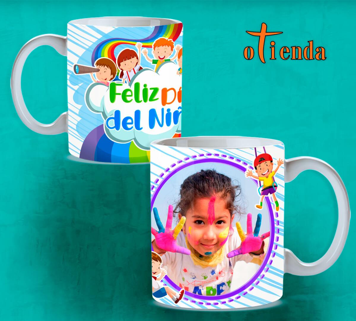 Taza cerámica Día del Niño personalizada