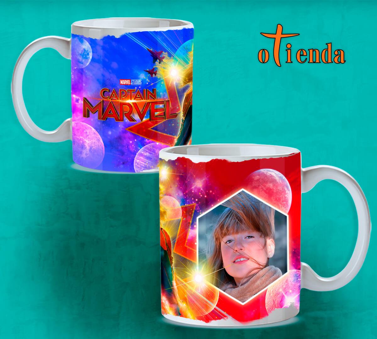 Taza Mug cerámica Héroes personalizada