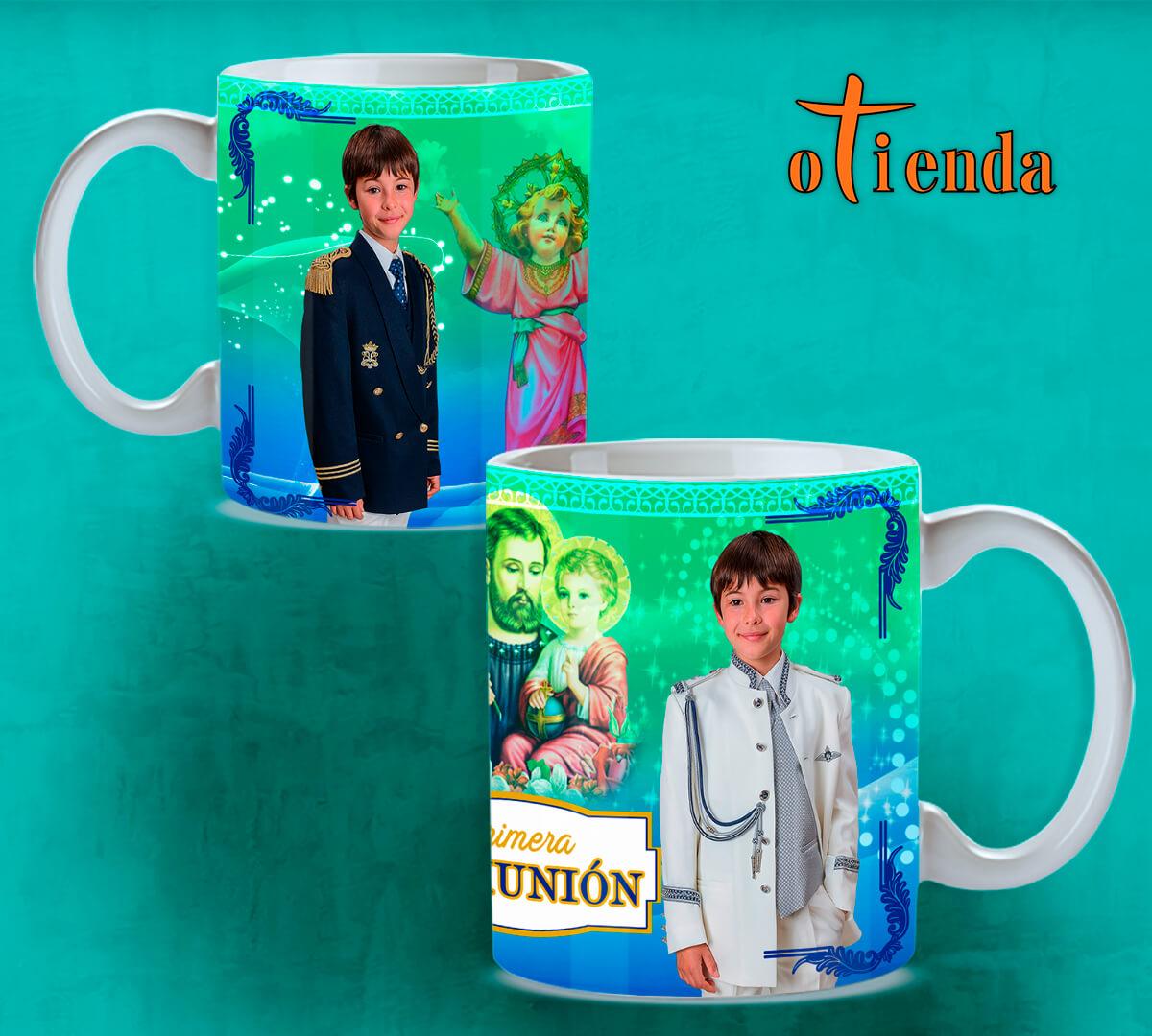 Taza Mug cerámica Primera Comunión personalizada