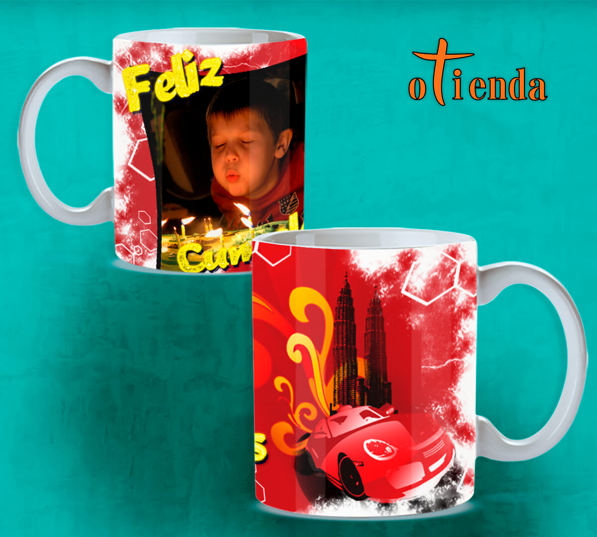 Taza Mug cerámica para Cumpleaños personalizada