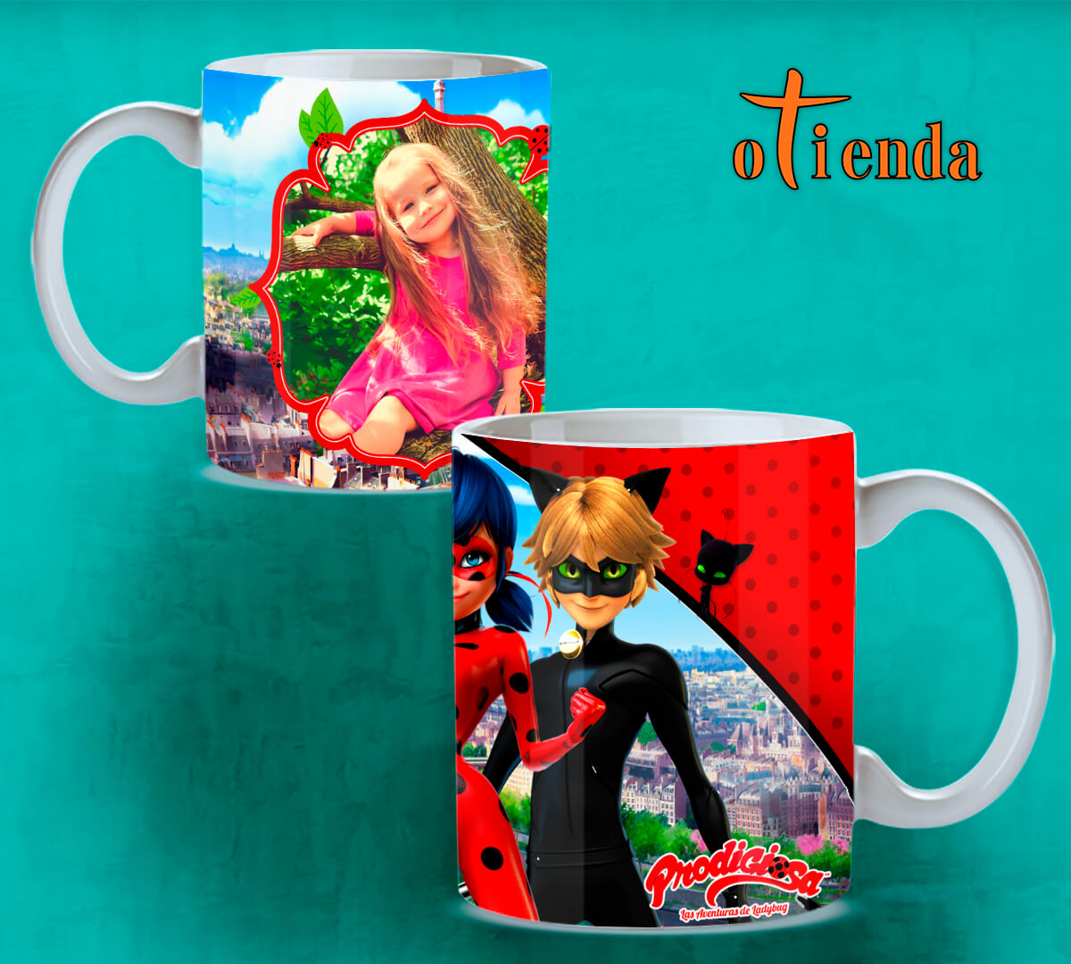 Taza cerámica Infantil personalizada