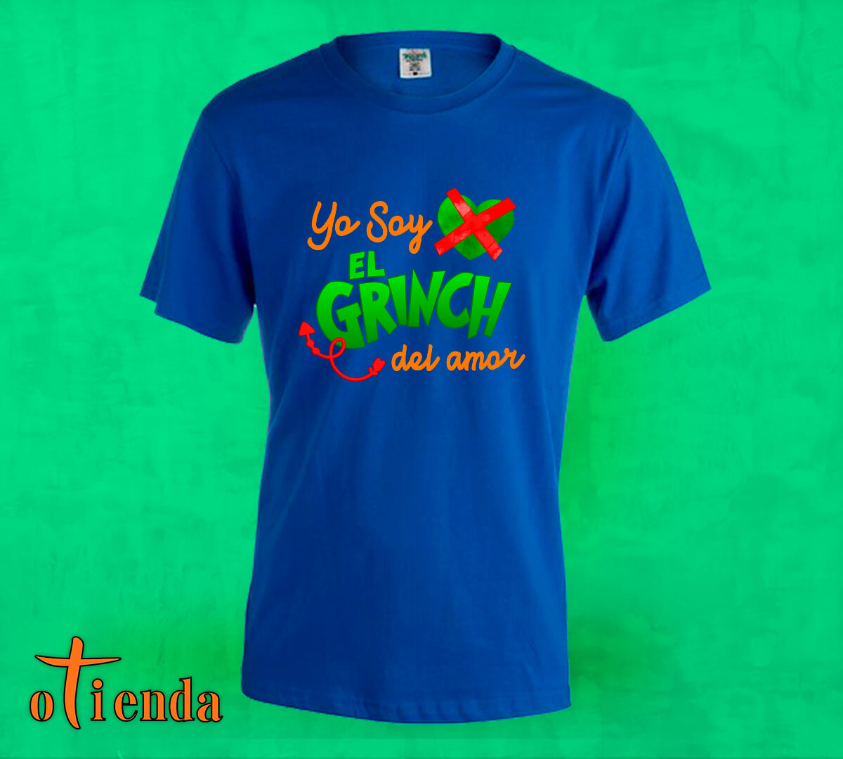 Camiseta de color Anti amor personalizada