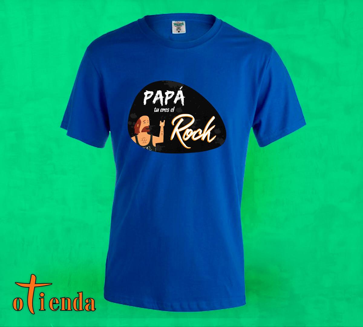 Camiseta de color Día del Padre personalizada