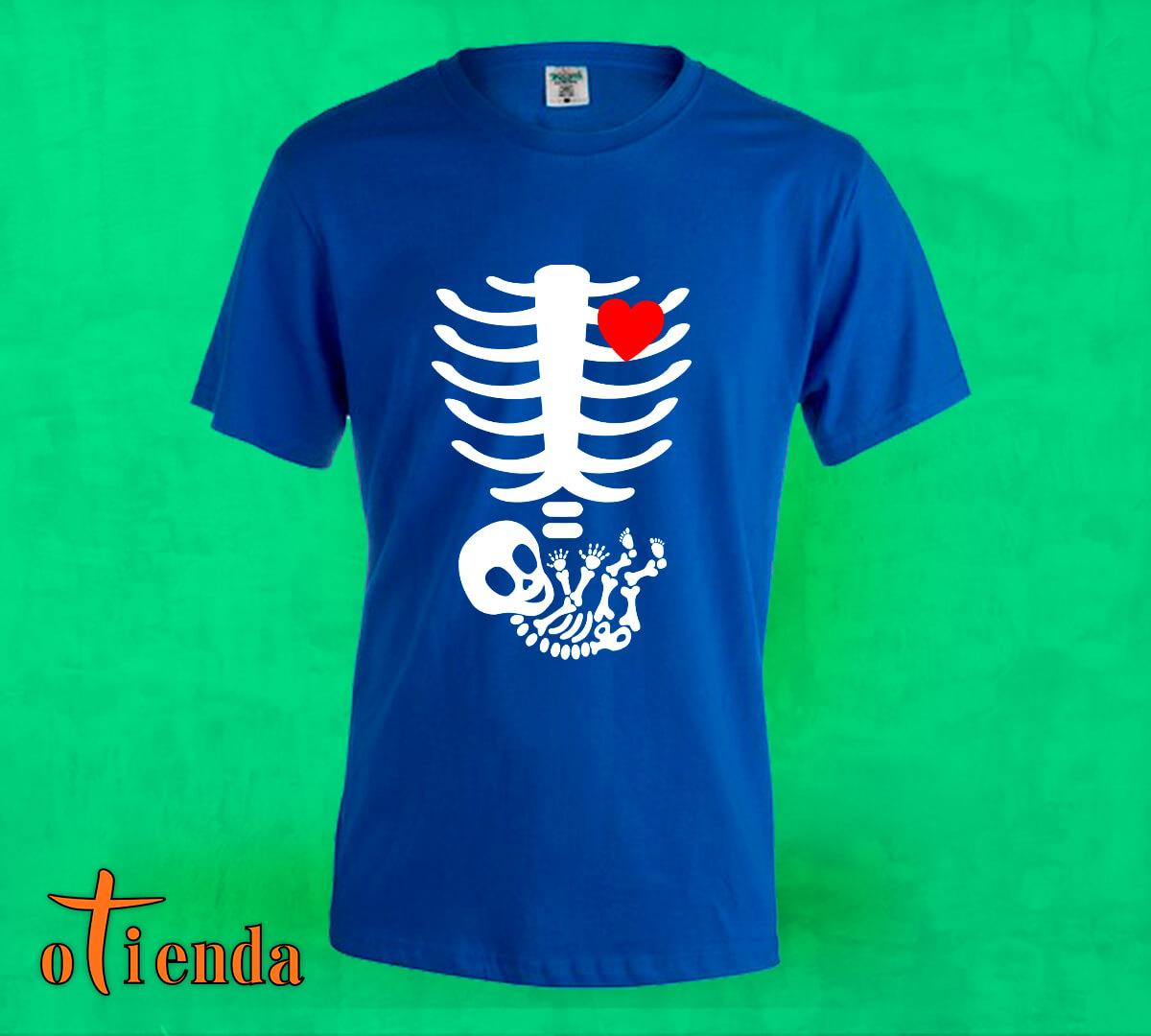 Camiseta de color para Embarazadas personalizada