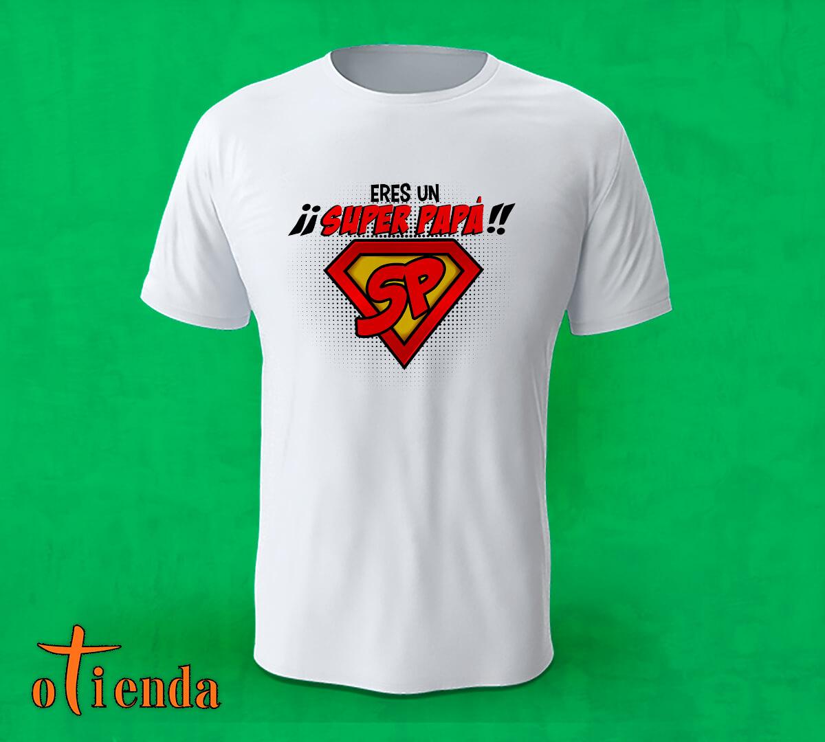 Camiseta Día del Padre personalizada