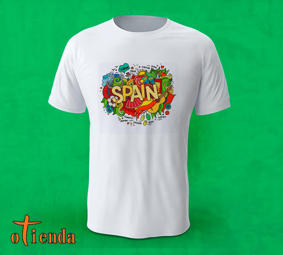 Camiseta Spain personalizada