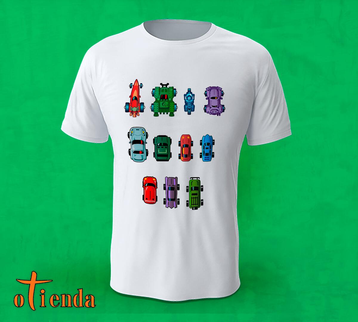Camiseta Coches Juego Ordenador personalizada