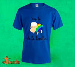 Camiseta de color Orgullo Gay personalizada