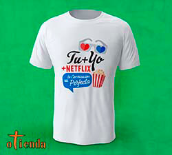 Camiseta Frases de Amor personalizada