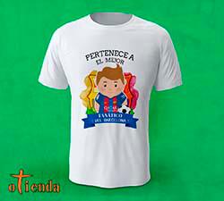 Camiseta Aquí toma uno del Barcelona FC personalizada