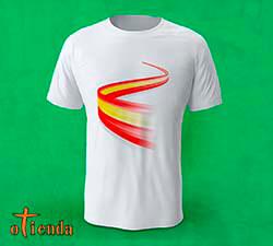 Camiseta Bandera de España personalizada