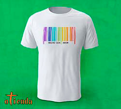 Camiseta Orgullo Gay personalizada