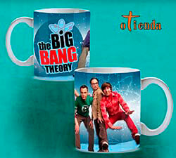 Taza cerámica Big Bang Theory personalizada