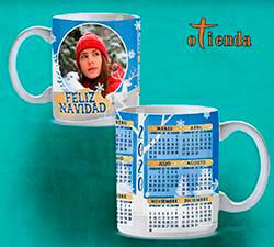 Taza cerámica Calendario 2020 personalizada