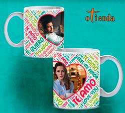 Taza Mug cerámica Palabras de Amor personalizada