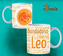 Taza cerámica Signos del Zodiaco personalizada