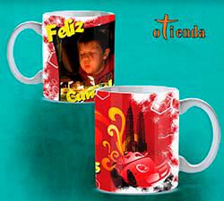 Taza cerámica para Cumpleaños personalizada