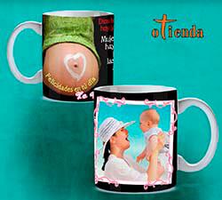 Taza cerámica Día de la Madre personalizada