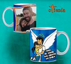 Taza cerámica Día del Padre personalizada