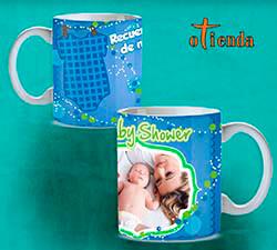 Taza cerámica Recién Nacido personalizada