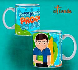 Taza cerámica para profesores personalizada