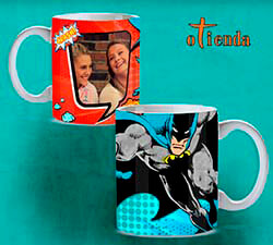 Taza cerámica Batman personalizada