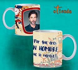 Taza cerámica Día del Hombre personalizada