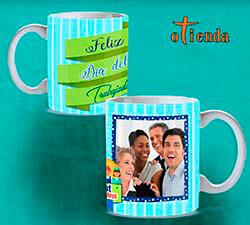 Taza cerámica Día del Trabajador personalizada