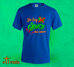 Camiseta de color Anti amor personalizada