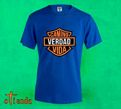 Camiseta de color Cristiana con logo de marca personalizada