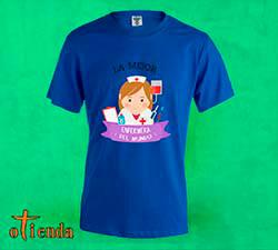 Camiseta de color El Mejor personaliza