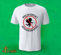 Camiseta Anti amor personalizada