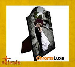 Portafotos sin marco con forma de arco de 13 x 18 cm personalizado
