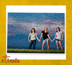 Puzzle personalizado de cartón 96 piezas