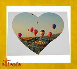 Puzzle Corazón personalizado de cartón 208 piezas