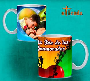 Taza cerámica Amor personalizada